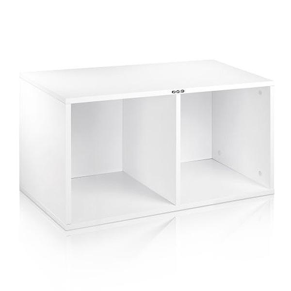 Zomo(ゾモ) / VS-Box 200 White (組立式) - 12インチレコード収納BOX - 【約200枚収納可能】