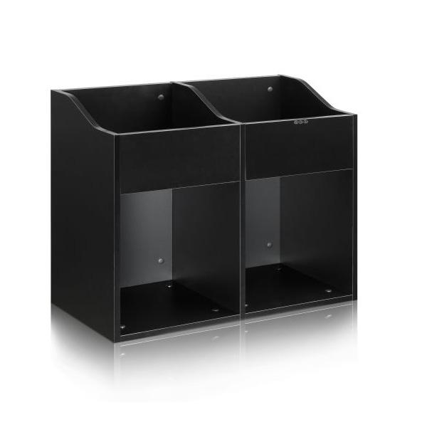 Zomo(ゾモ) / VS-Box 200/2 Black (組立式) - 12インチレコード収納BOX - 【約400枚収納可能】