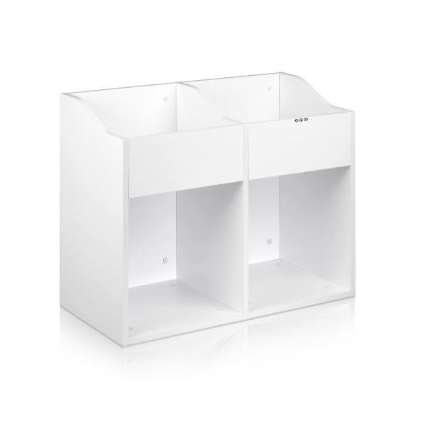 Zomo(ゾモ) / VS-Box 200/2 White (組立式) - 12インチレコード収納BOX - 【約400枚収納可能】