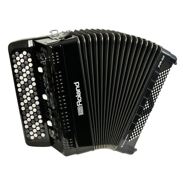 1大特典付 Roland(ローランド) / FR-4XB (BLACK) Vアコーディオン(ボタン鍵盤タイプ) - デジタルアコーディオン -