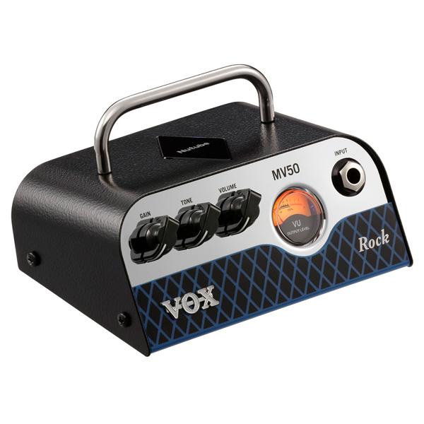 VOX(ヴォックス) / MV50-CR Rock - 新真空管 Nutube 搭載ギターアンプヘッド -