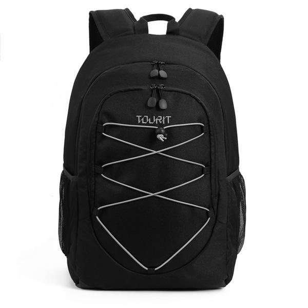 TOURIT / Cooler Backpack (Black) 【大容量25L / 撥水加工】 - 保冷バッグ / クーラーボックス 直輸入品