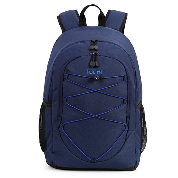 TOURIT / Cooler Backpack (Blue) 【大容量25L / 撥水加工】 - 保冷バッグ / クーラーボックス 直輸入品