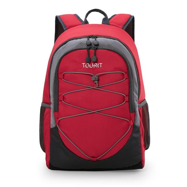 TOURIT / Cooler Backpack (Red) 【大容量25L / 撥水加工】 - 保冷バッグ / クーラーボックス 直輸入品