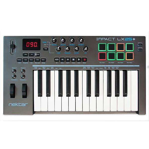 Nektar Technology / Impact LX25+ - MIDIキーボード・コントローラー -