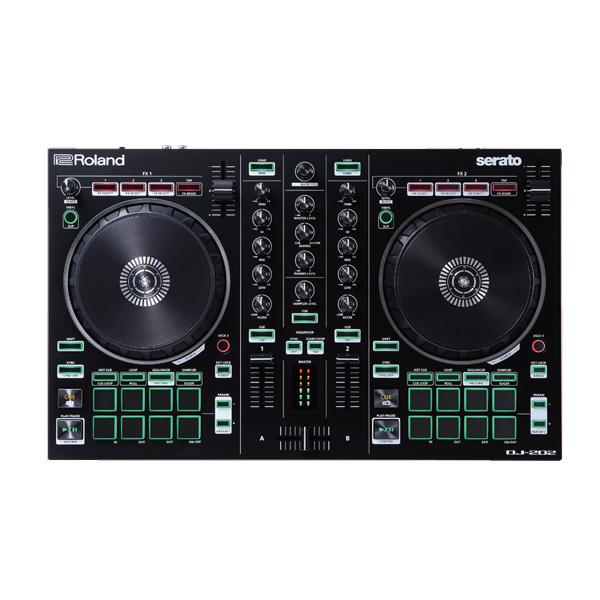 Roland(ローランド) / DJ-202 - PCDJコントローラー - 【期間限定 Serato DJ Pro 付き】