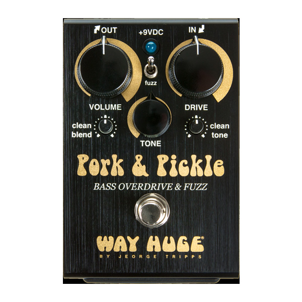 WAY HUGE(ウェイヒュージ) / WHE214 PORK AND PICKLE BASS OVERDRIVE - オーバードライブ - 《ベースエフェクター》
