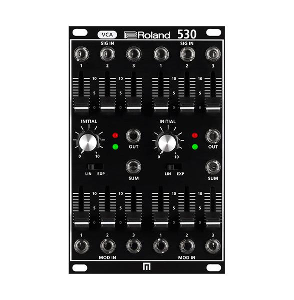Roland(ローランド) AIRA / SYSTEM-500 530 Modular VCA SYS-530 【SYSTEM-500 モジュール】 - モジュラーシンセサイザー -