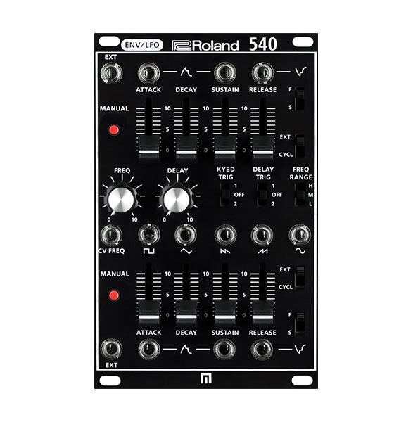 Roland(ローランド) AIRA / SYSTEM-500 540 Modular 2ENV-LFO SYS-540 【SYSTEM-500 モジュール】 - モジュラーシンセサイザー -