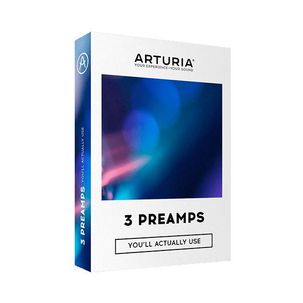 【限定1台】Arturia(アートリア) / 3 PREAMPS 3種類のプリアンプのプラグインバンドルソフト 【アウトレット品/メーカー保証付】