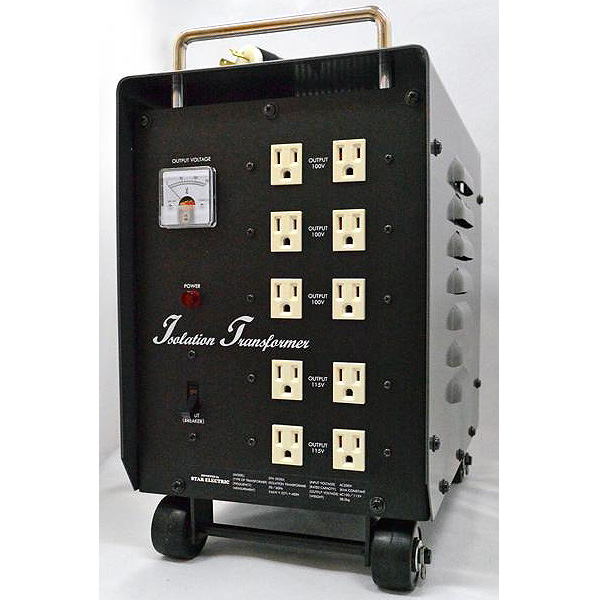?最高峰の電源?ダウン&アイソレーション・電源トランス 3000W・200V専用仕様
