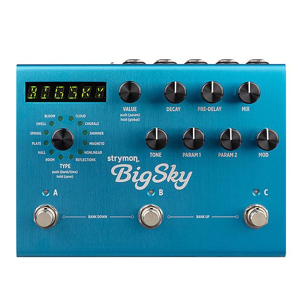 STRYMON(ストライモン) / BigSky - リバーブ - 《ギターエフェクター》