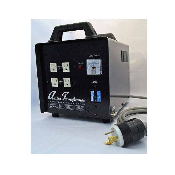 【25日限定カードでP14倍】スター電器 3000W ダウントランス コンセント16個 - オーディオ用電源トランス -