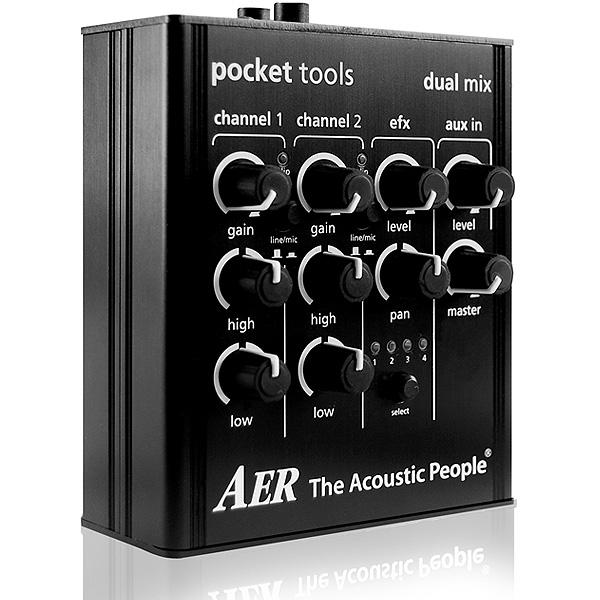 AER(エーイーアール) / DUAL MIX 2 - アコースティックギター用プリアンプ -