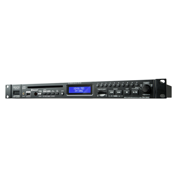 【送料無料】Denon(デノン) DN-300ZB マルチメディア CD Bluetooth SDカード USBメモリ USBハードディスク対応 オーディオプレイヤー