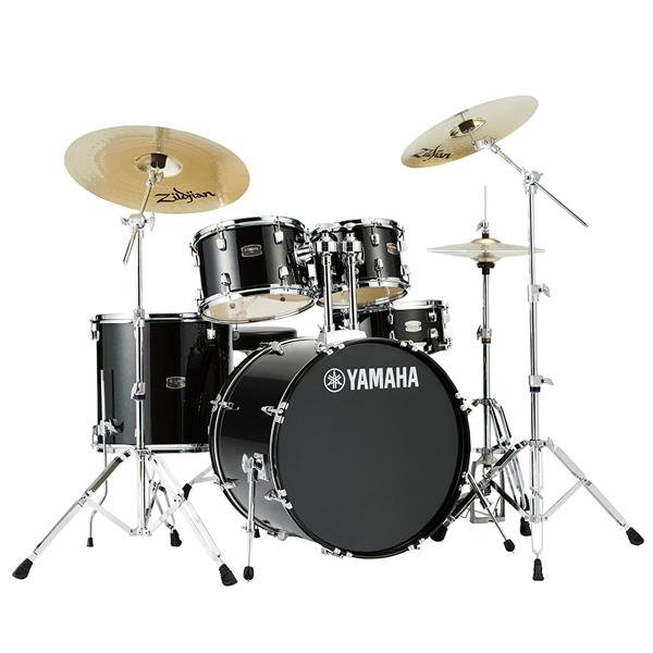 YAMAHA(ヤマハ) / RYDEEN(ライディーン) [RDP2F5STD BLG(ブラックグリッター)]【22BD シンバル付きフルセット】 - ドラムセット -
