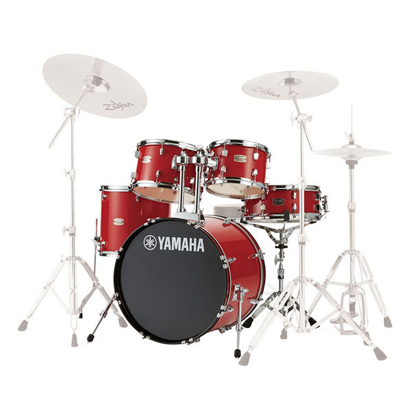 YAMAHA(ヤマハ) / RYDEEN(ライディーン) [RDP0F5 RD(ホットレッド)]【20BD シェルキット】 - ドラムセット -