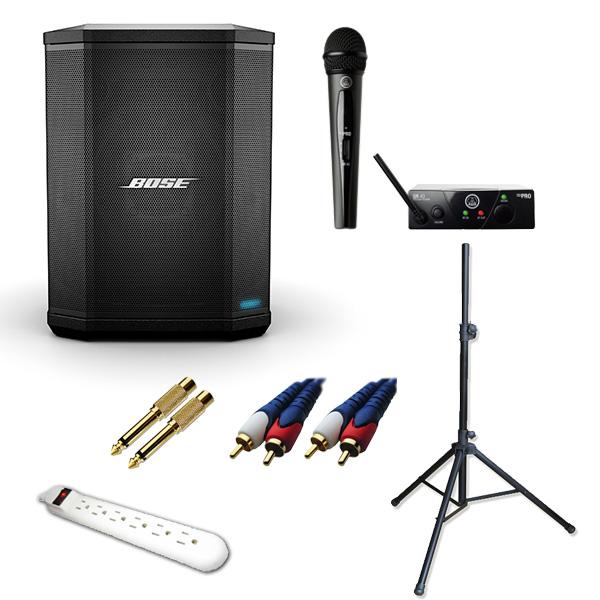 【はこぽす対応商品】 4大特典付 4大特典付【ワイヤレスマイク1本セット -】Bose(ボーズ) -/ S1 Pro - Bluetooth対応 フロアモニタースピーカー -, 清和shop:f44a2506 --- canoncity.azurewebsites.net