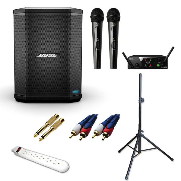 4大特典付 【ワイヤレスマイク2本セット】Bose(ボーズ) / S1 Pro - Bluetooth対応 フロアモニタースピーカー -【次回3月頃予定】