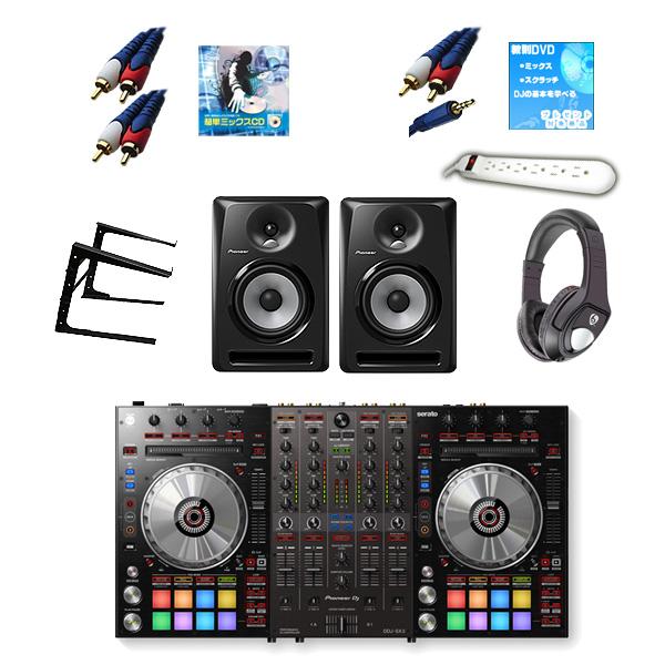 14大特典付 Pioneer(パイオニア) / DDJ-SX3 & S-DJ60X 激安ハイアマCセット 【Serto DJ Pro 無償】