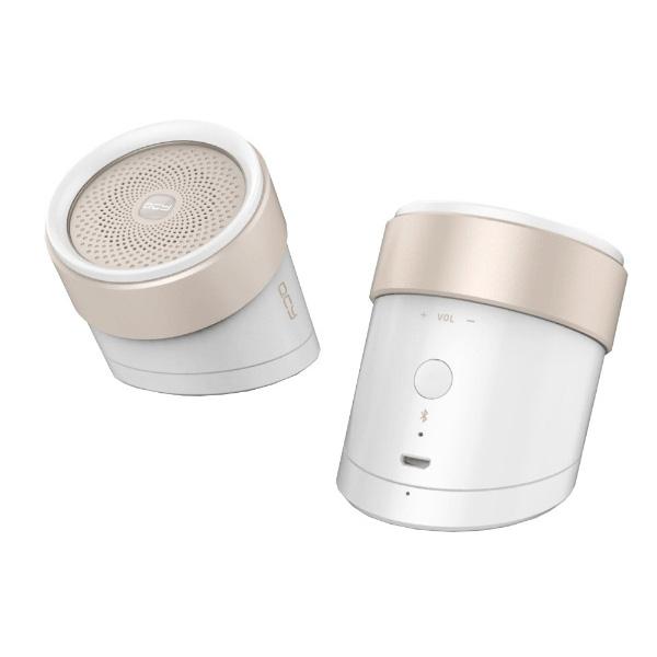 1大特典付 QCY / BOX1 (WHITE) - Bluetooth対応 ワイヤレススピーカー -