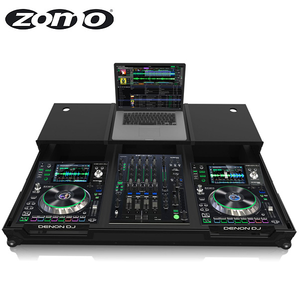 Zomo(ゾモ) / Flightcase SCX-1800 Plus NSE 【DENON X1800 Prime + 2x SC5000 Prime 対応】- CDJセット用 フライトケース -