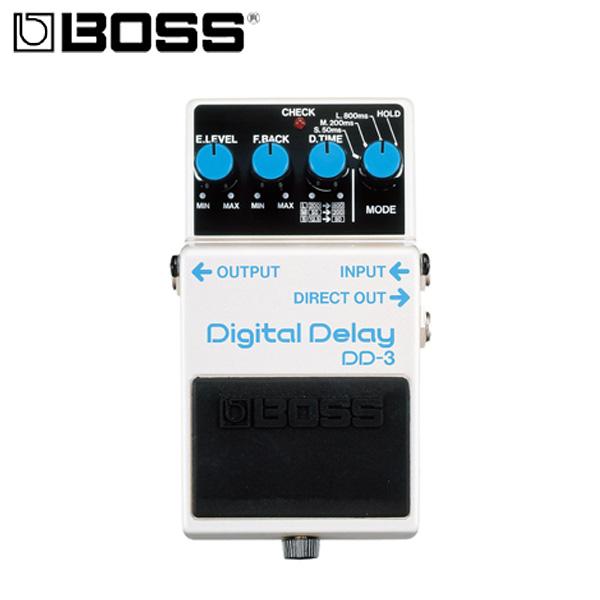 1大特典付 Boss / Digital Delay DD-3 デジタル・ディレイ ボス ギターエフェクター