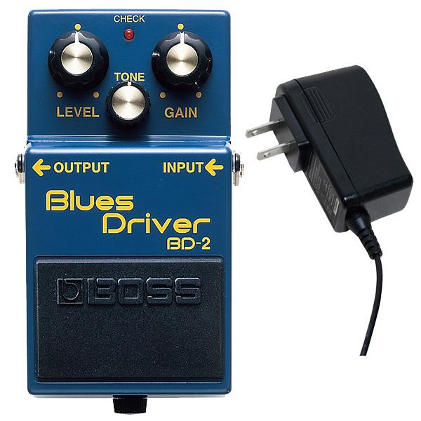 1大特典付 Boss(ボス) / BD-2 Blues Driver -オーバードライブ- 《ギターエフェクター》