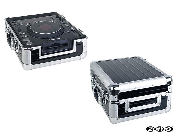 Zomo(ゾモ) / Flightcase CDJ-1 XT (BLACK) 【Pioneer CDJ-2000 NXS2 / XDJ-1000MK2 / 12インチ DJミキサー対応】- CDJ / ミキサーケース -