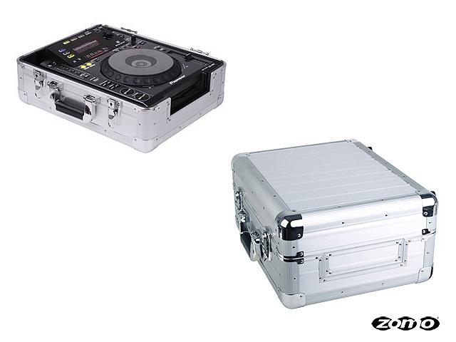 Zomo(ゾモ) / Flightcase CDJ-1 XT (SILVER) 【Pioneer CDJ-2000 NXS2 / XDJ-1000MK2 / 12インチ DJミキサー対応】- CDJ / ミキサーケース -
