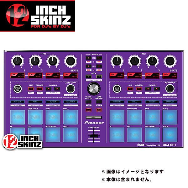 【緊急告知 12/19~26限定エントリ―P7倍】12inch SKINZ / Pioneer DDJ-SP1 SKINZ (Purple) 【DDJ-SP1用スキン】