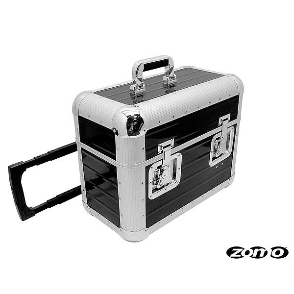 Zomo(ゾモ) / Record Case TP-70 XT (BLACK) - 約70枚収納可能 キャスター付きレコードケース -