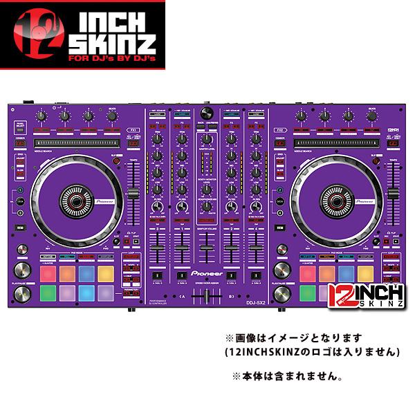 12inch SKINZ / Pioneer DDJ-SX2 SKINZ(PURPLE) 【DDJ-SX2用スキン】