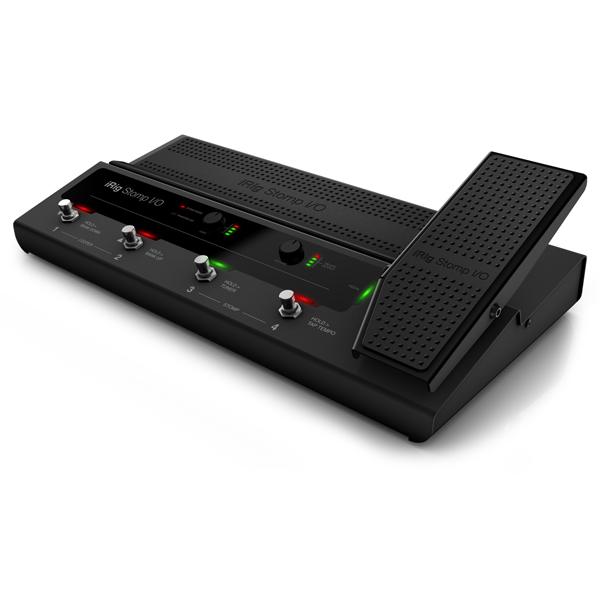 IK Multimedia / iRig Stomp I/O - ペダルボード・コントローラー オーディオインターフェイス - 【ヘッドホンプレゼント】
