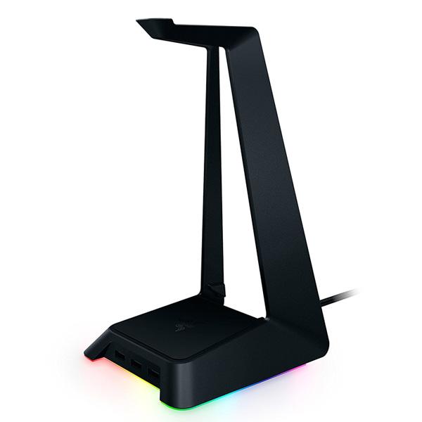 Razer(レイザー) Base Station Chroma USBハブ 3基搭載 光るヘッドホンスタンド 直輸入品