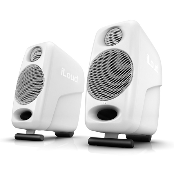 IK Multimedia iLoud Micro Monitor White Special Edition Bluetooth対応モニタースピーカー