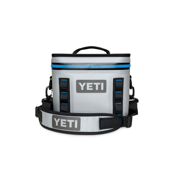 YETI COOLERS / Hopper Flip 8 Portable Cooler (Fog Gray / Tahoe Blue) クーラーボックス 直輸入品