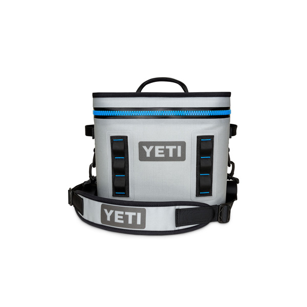 YETI COOLERS / Hopper Flip 12 Portable Cooler (Fog Gray / Tahoe Blue) クーラーボックス 直輸入品