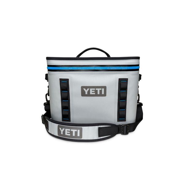 YETI COOLERS / Hopper Flip 18 Portable Cooler (Fog Gray / Tahoe Blue) クーラーボックス 直輸入品