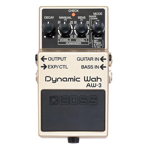 1大特典付 Boss(ボス) / Dynamic Wah AW-3 - オートワウ 《ギターエフェクター》