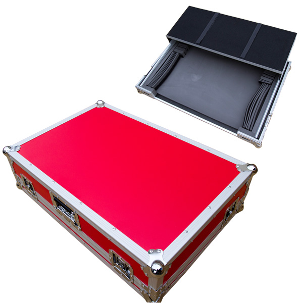 Euro Style / DJ CONTROLLER CASE (LARGE) RED レッド 【対応機種 Pioneer DDJ-SX2, DDJ-RX / Native Instruments TRAKTOR KONTROL S8】 DJコントローラーケース
