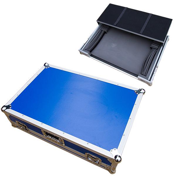 Euro Style / DJ CONTROLLER CASE (LARGE) BLUE ブルー 【対応機種 Pioneer DDJ-SX2, DDJ-RX / Native Instruments TRAKTOR KONTROL S8】 DJコントローラーケース
