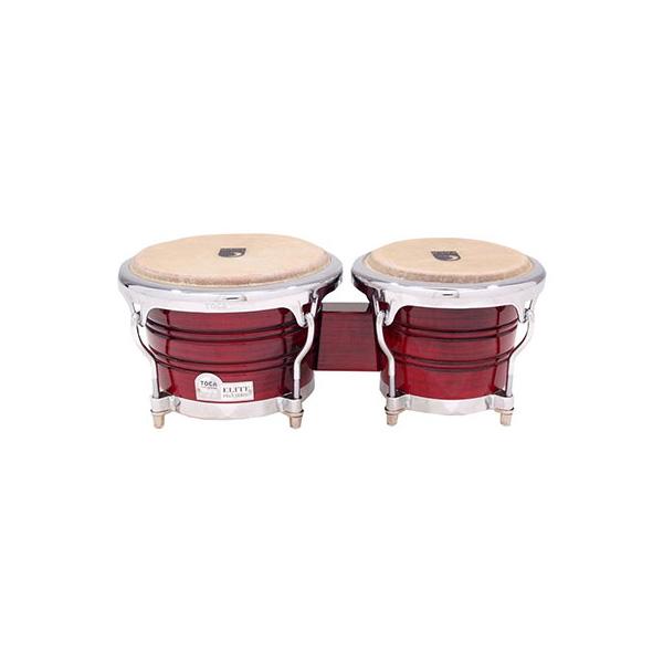 Toca(トカ) / Elite Pro Wood Bongos Crimson Fade [3170CF] ボンゴ