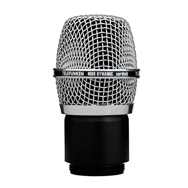 TELEFUNKEN / M80WH Shure規格 ワイヤレスマイクロフォン用のヘッド テレフンケン