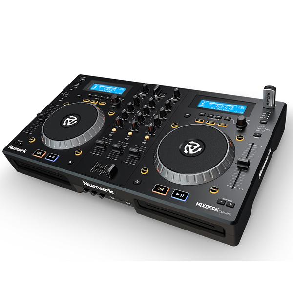 4大特典付 【10倍ポイント】Numark(ヌマーク) / Mixdeck Express (Serato DJ Lite付属) 【CD/USBメモリー/PCDJ対応】コンプリートDJシステム