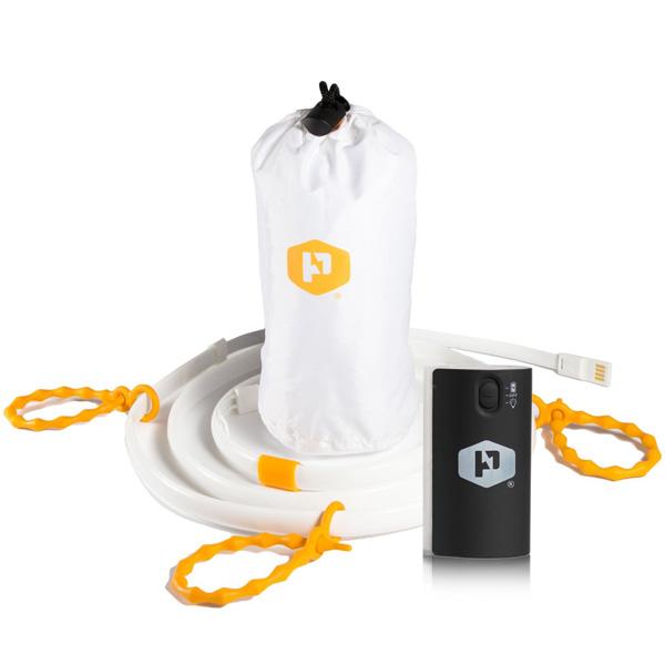 Luminoodle(ルミヌードル) / Luminoodle XL Plus (10 ft Light Rope + Battery Pack) (3m&専用USBバッテリー) 《 多目的「ロープ型」LEDライト 》 -アウトドアグッズ -
