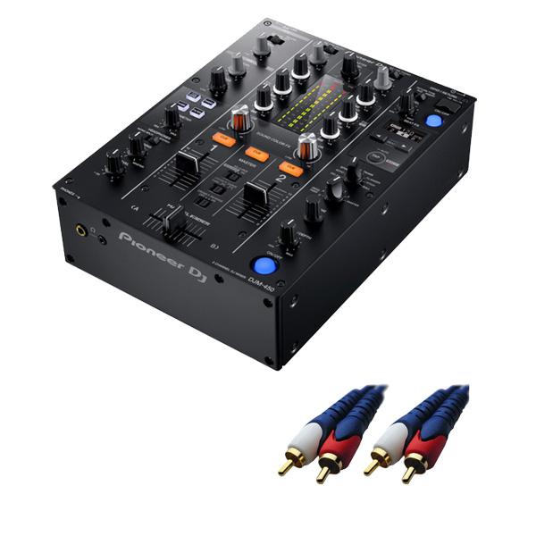 1大特典付 Pioneer(パイオニア) / DJM-450 - DVS機能・エフェクト搭載 DJミキサー-【4月中旬頃予定】