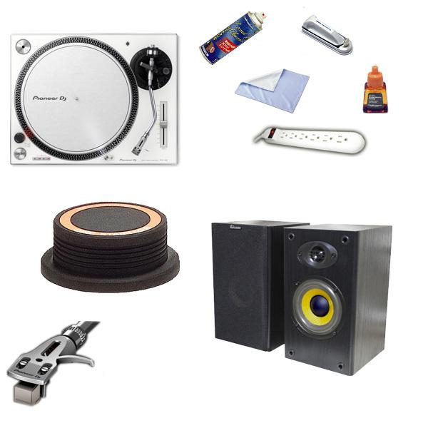 1大特典付 Pioneer(パイオニア) / PLX-500-W/AT618 高音質リスニングセット