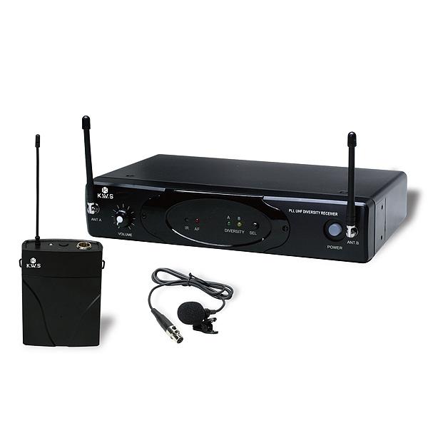 K.W.S / KWS-899P/LM-60 - ワイヤレスシステム ラベリアマイクタイプ -