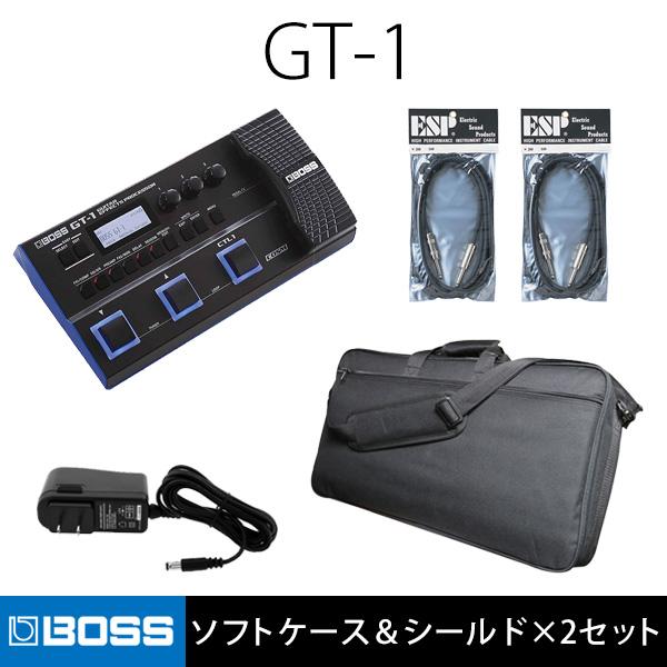 1大特典付 【ソフトケース&シールド×2セット】Boss(ボス) / GT-1 - マルチエフェクター -